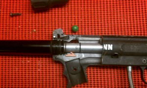 Tippmann 98 with BBCS Installed